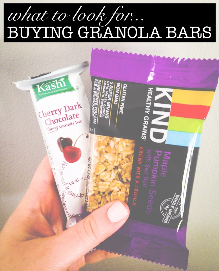 tips for buying a normal yet healthy snack bar