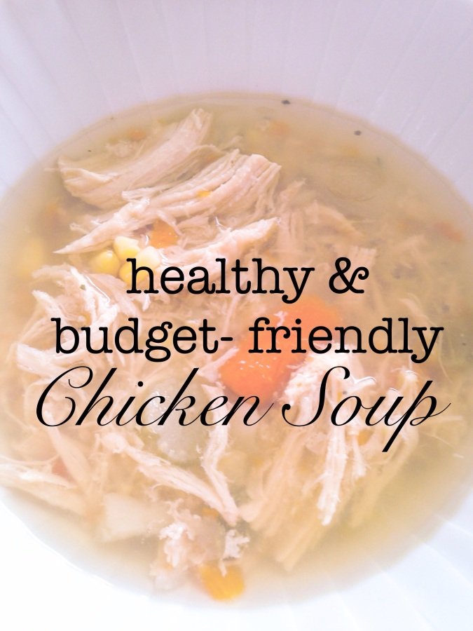 this is almost as easy as opening a can of processed soup- but far more delicious!