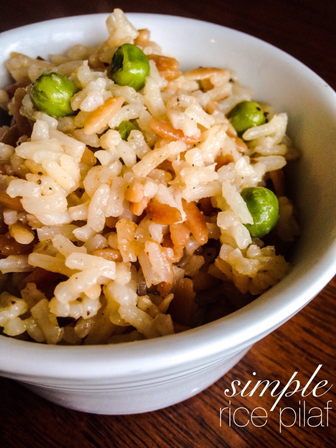 an easy real-food rice remake