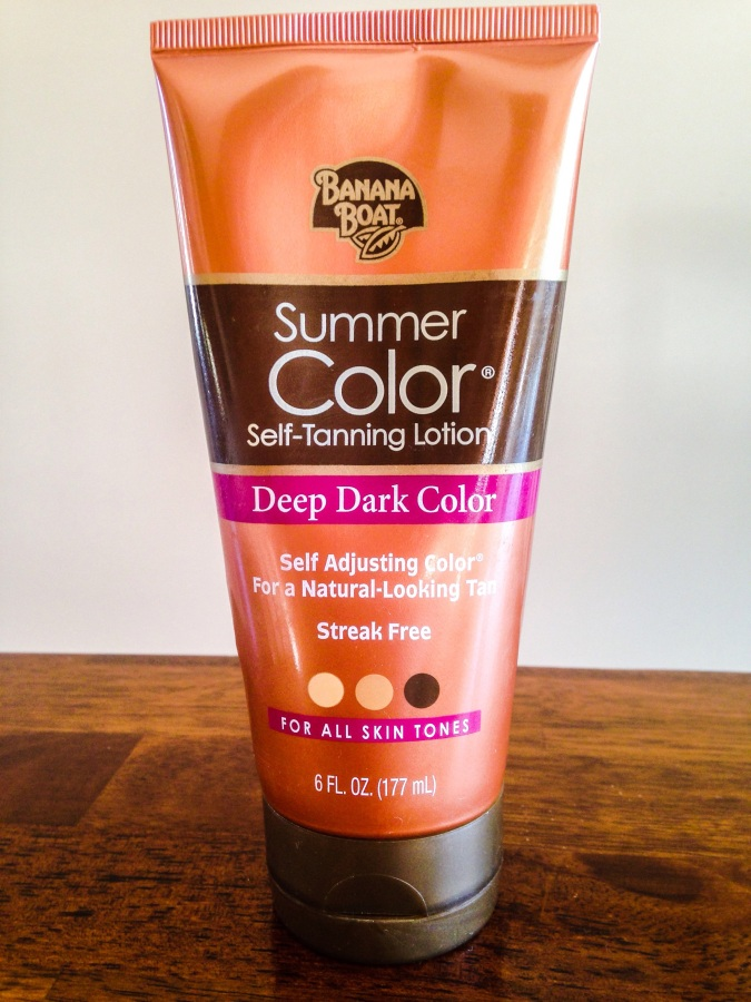 For $7 at Walmart, this is my self tanning miracle!