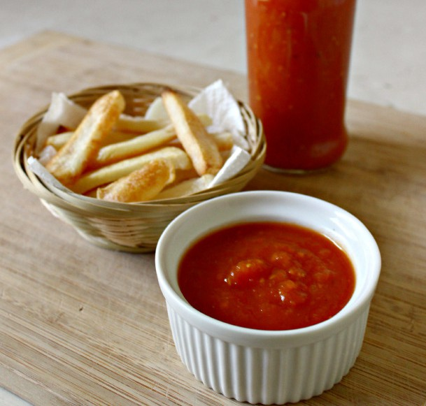 homemade ketchup packs in flavor without adding processed ingredients