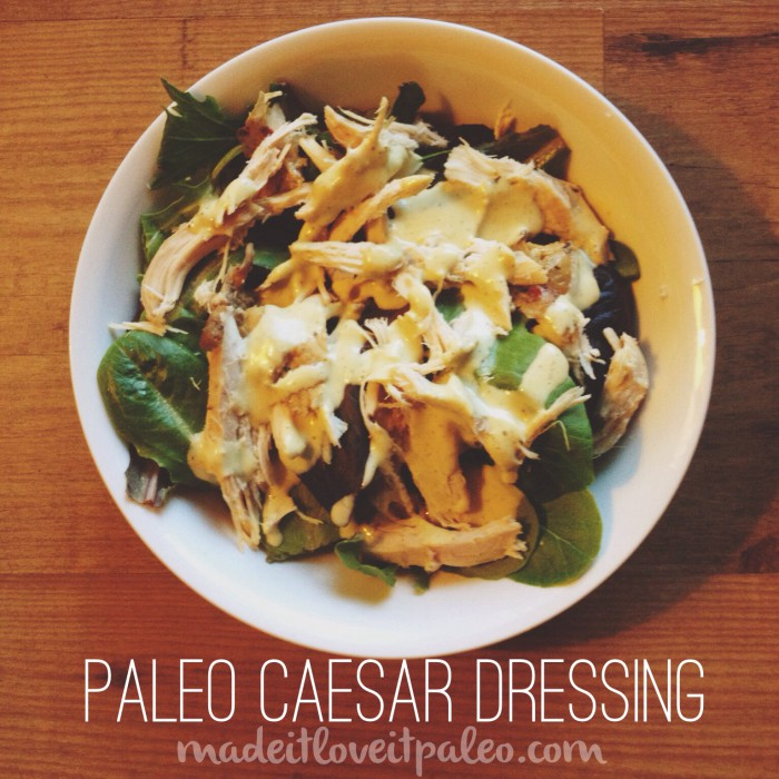 a healthy spin on a decadent dressing