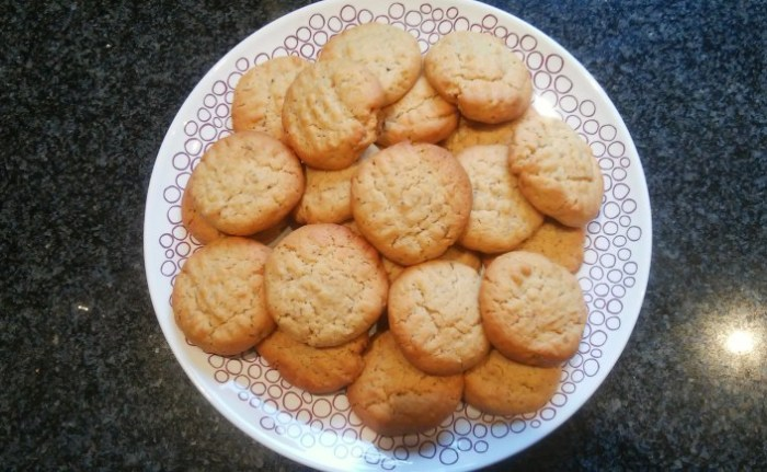 the key to these cookies' success? WALNUTS!