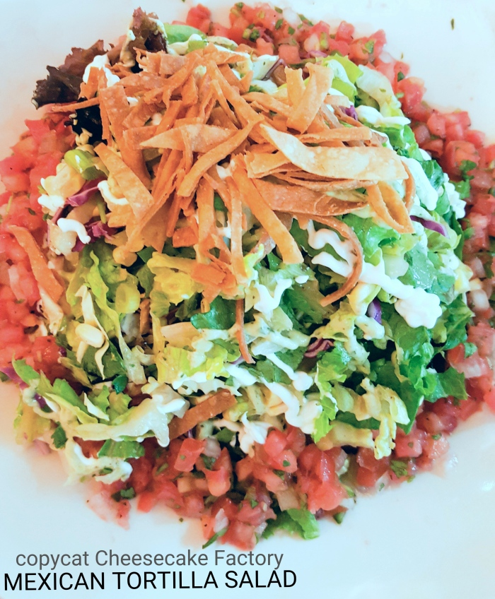 This chopped salad had me at hello.