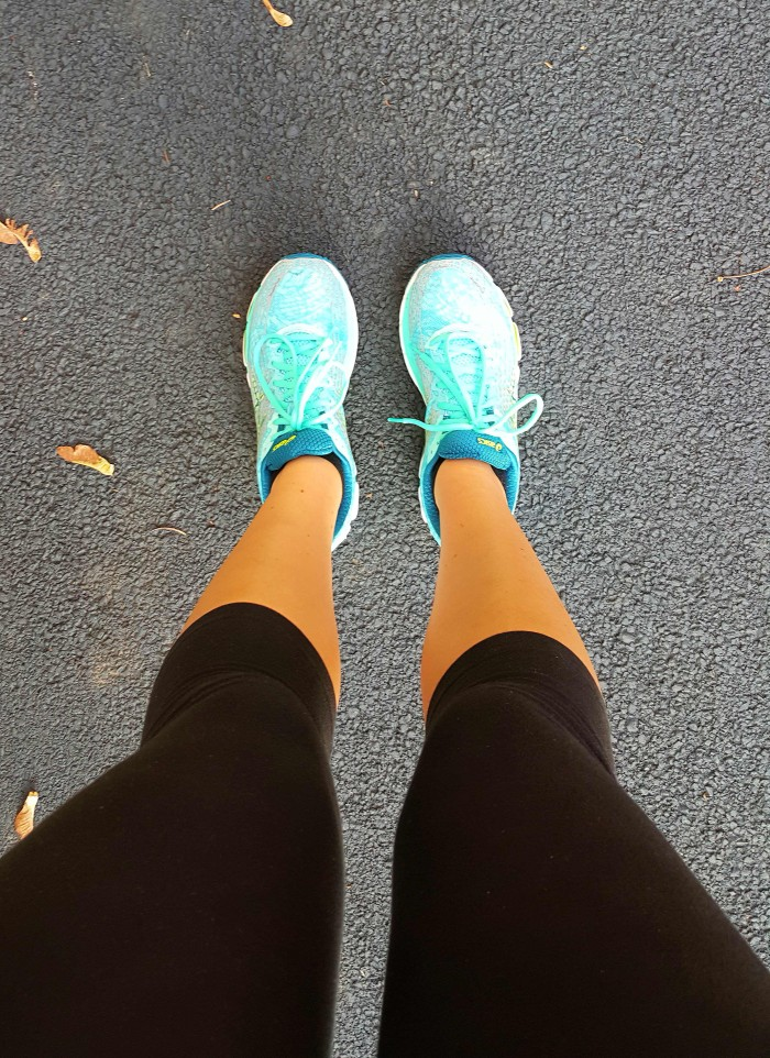 ... but new shoes always make things better!