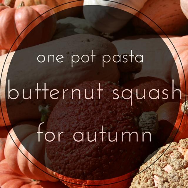 autumn pasta