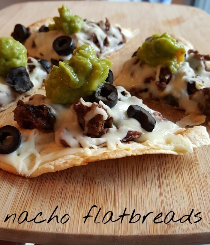 nacho flatbread